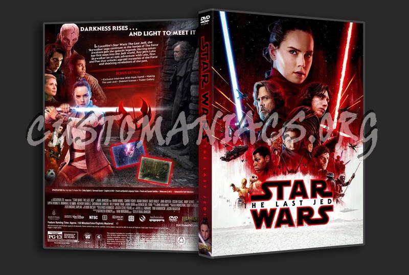 Star Wars: The Last Jedi dvd cover