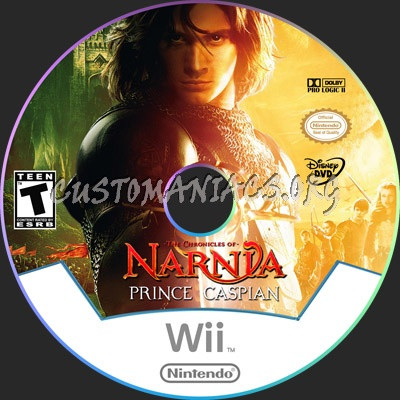 The Chronicles of Narnia: Prince Caspian dvd label