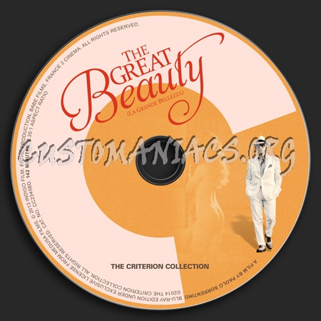 702 - The Great Beauty dvd label