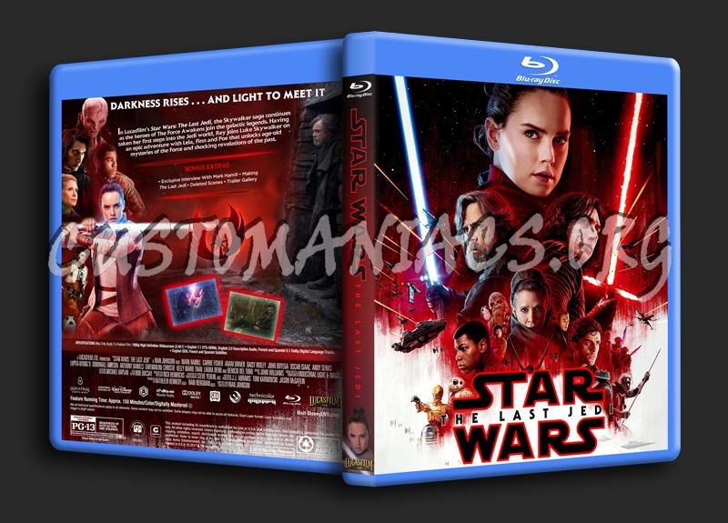 Star Wars: The Last Jedi blu-ray cover