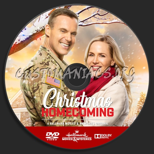Christmas Homecoming Hallmark.Christmas Homecoming Dvd Label Dvd Covers Labels By