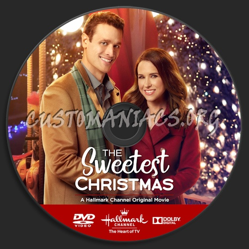 The Sweetest Christmas.The Sweetest Christmas Dvd Label Dvd Covers Labels By