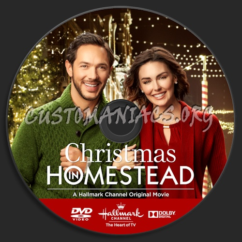 Christmas In Homestead Hallmark.Christmas In Homestead Dvd Label Dvd Covers Labels By