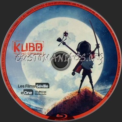 Kubo and the Two Strings blu-ray label
