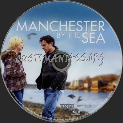Manchester by the Sea blu-ray label