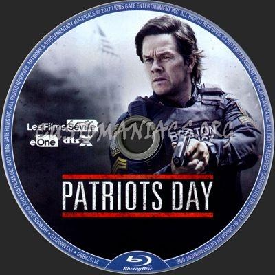 Patriots Day blu-ray label