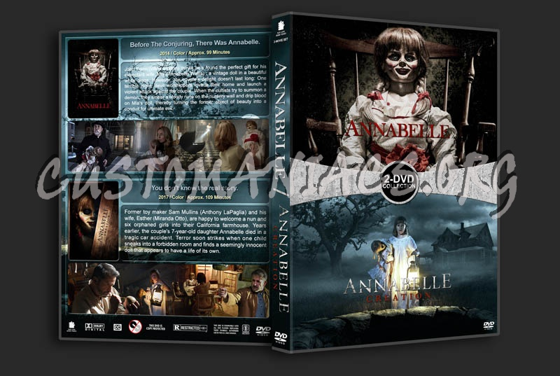 Annabelle Double Feature dvd cover