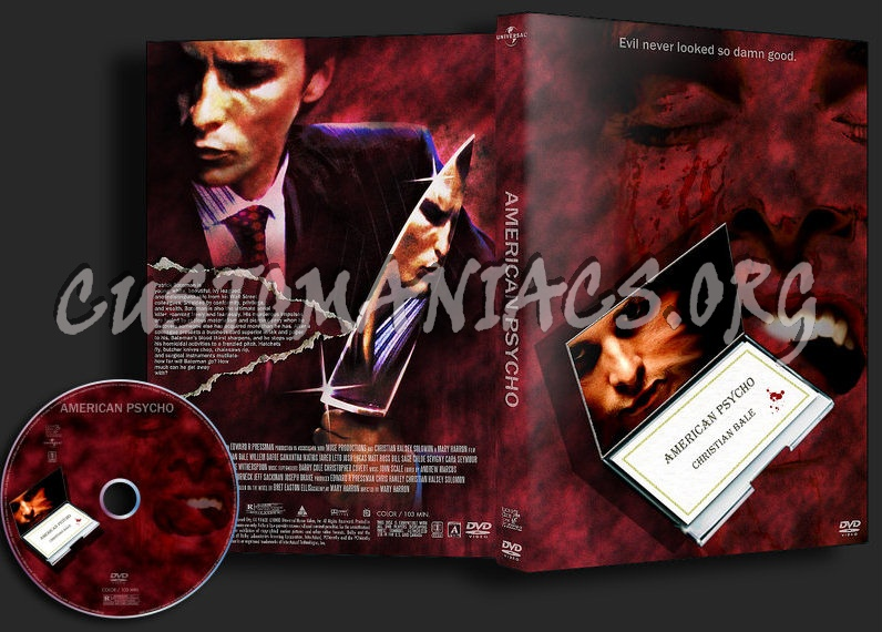 American Psycho dvd cover