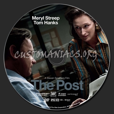 The Post dvd label