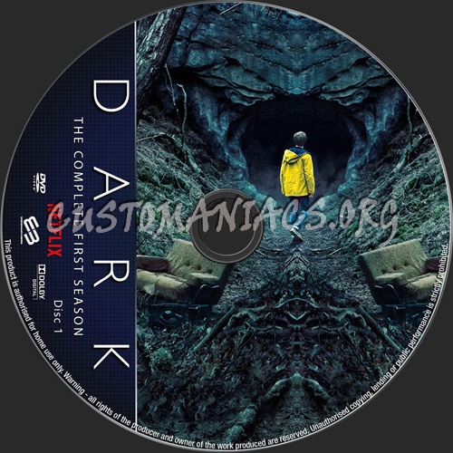 Dark Season 1 dvd label