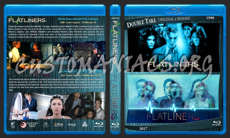 Flatliners Double Feature blu-ray cover