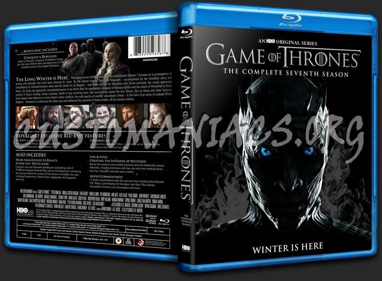Game of Thrones Season 7 blu-ray cover