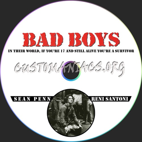 Bad Boys dvd label