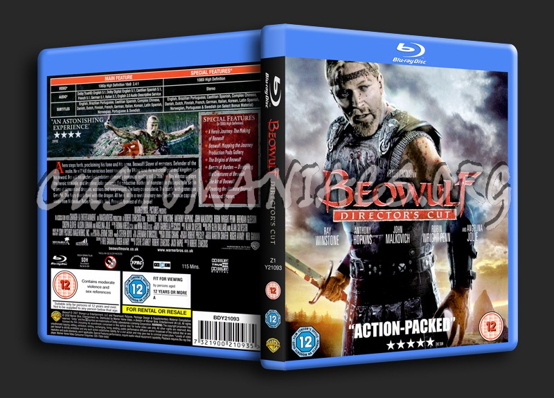 Beowulf blu-ray cover