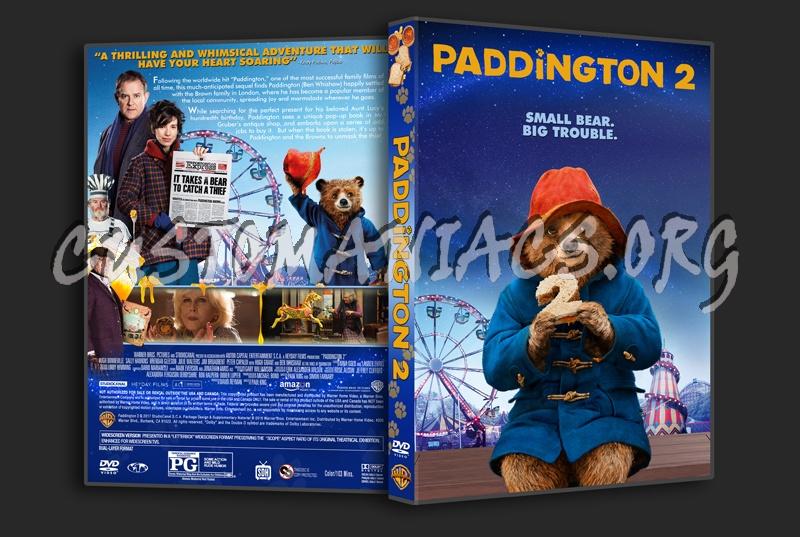 Paddington 2 dvd cover
