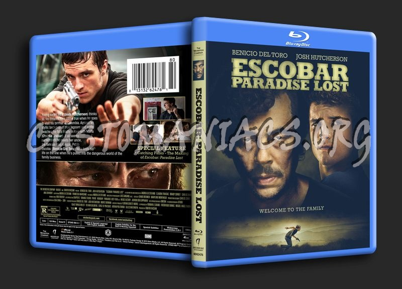Escobar Paradise Lost blu-ray cover