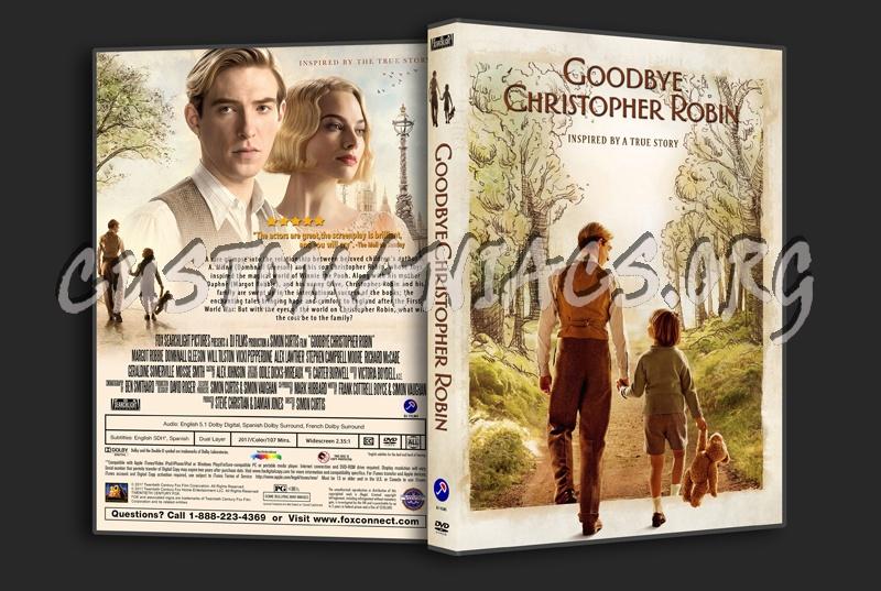 Goodbye Christopher Robin dvd cover