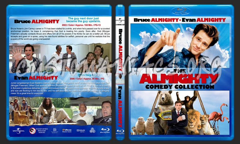 The Almighty Comedy Collection blu-ray cover