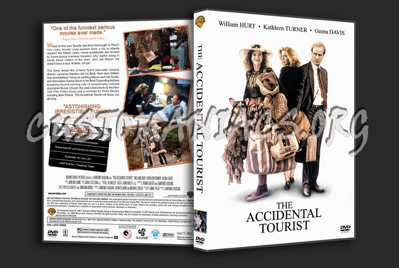 The Accidental Tourist dvd cover