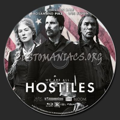 Hostiles blu-ray label