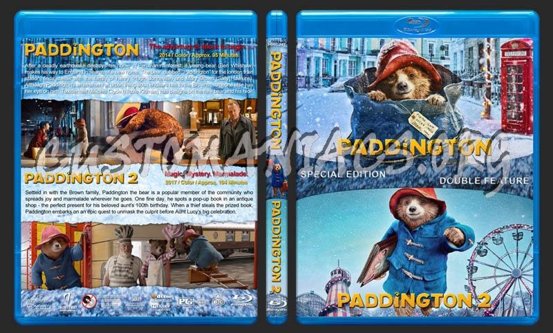 Paddington Double Feature blu-ray cover