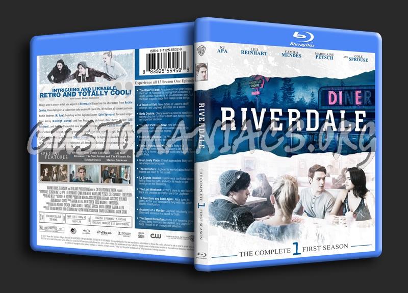 Riverdale Season 1 blu-ray cover