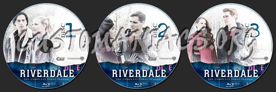 Riverdale Season 1 blu-ray label