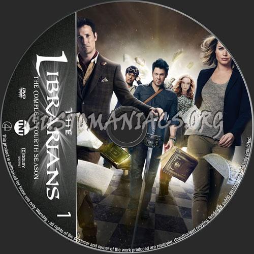 The Librarians Season 4 dvd label