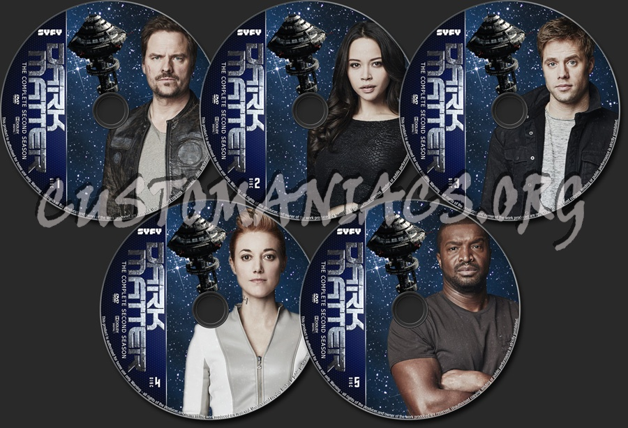 Dark Matter Season 2 dvd label