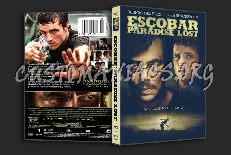 Escobar Paradise Lost dvd cover