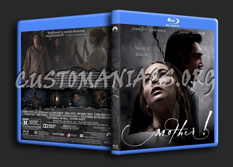 Mother (aka mother!) blu-ray cover