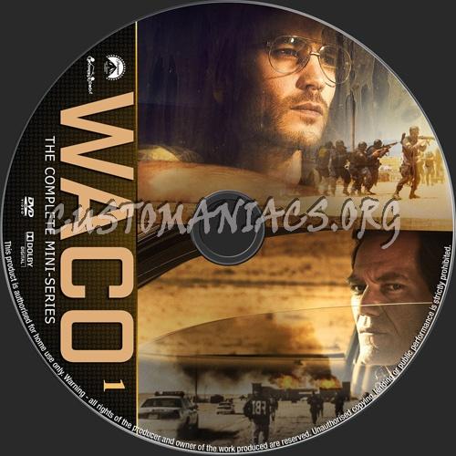 Waco Mini-Series dvd label