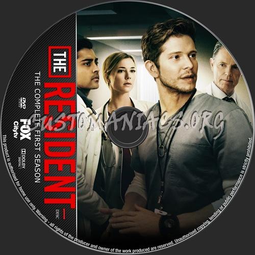 The Resident Season 1 dvd label