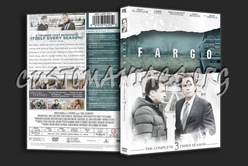 Fargo Season 3 dvd cover