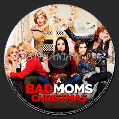A Bad Moms Christmas Dvd Cover.A Bad Moms Christmas 2017 Blu Ray Label Dvd Covers