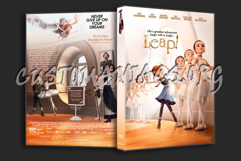 Leap! (aka Ballerina) dvd cover