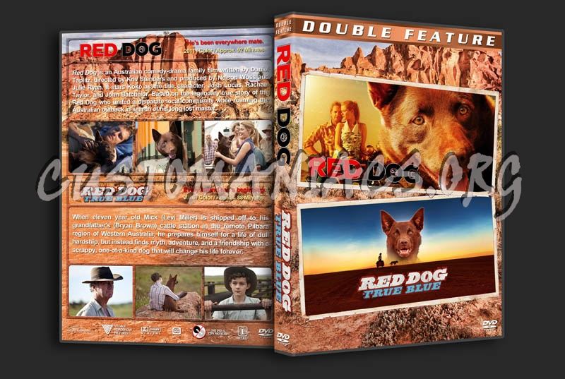 Red Dog Double Feature dvd cover