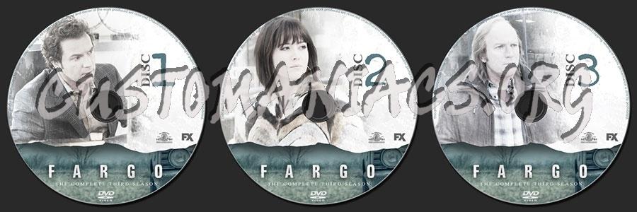 Fargo Season 3 dvd label