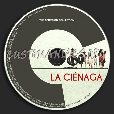 743 - La ciénaga dvd label