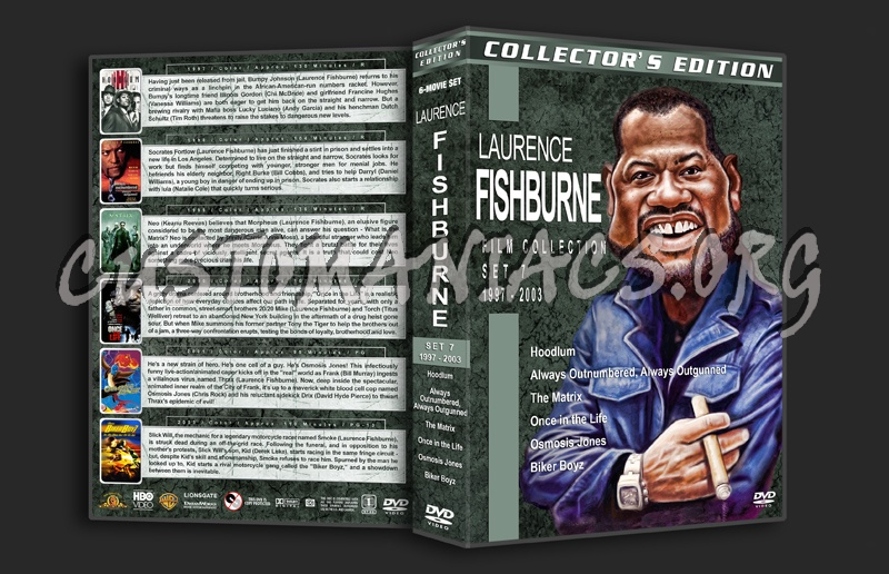 Laurence Fishburne Film Collection - Set 7 (1997-2001) dvd cover