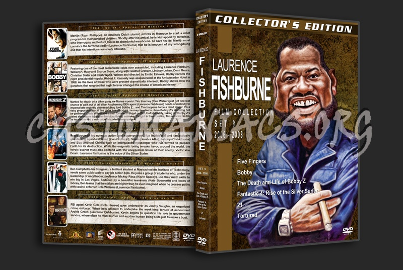Laurence Fishburne Film Collection - Set 9 (2006-2008) dvd cover
