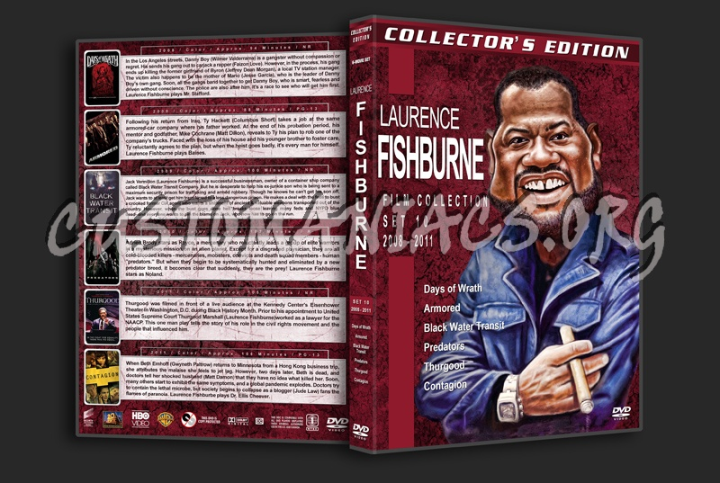 Laurence Fishburne Film Collection - Set 10 (2008-2011) dvd cover