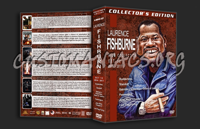 Laurence Fishburne Film Collection - Set 12 (2014-2017) dvd cover
