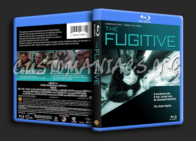 The Fugitive blu-ray cover