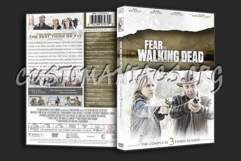 Fear the Walking Dead Season 3 dvd cover