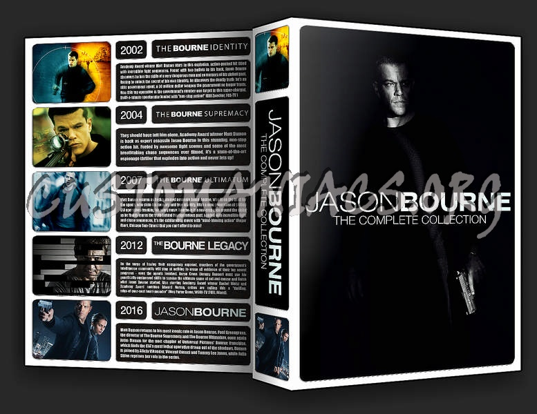 The Jason Bourne Collection dvd cover