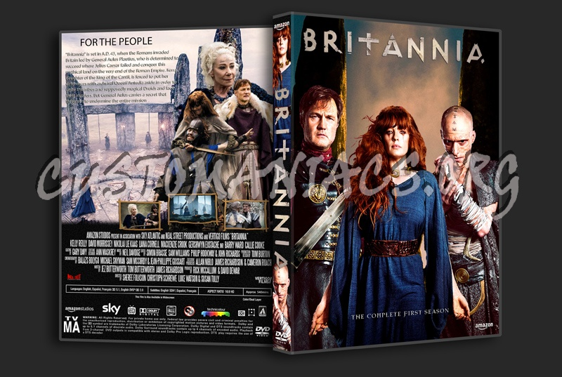 Britannia Season 1 dvd cover