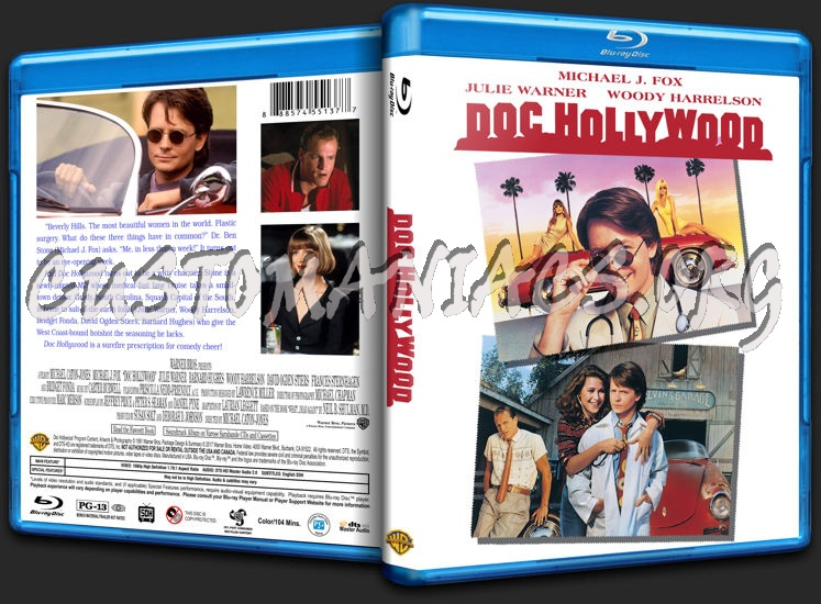 Doc Hollywood blu-ray cover