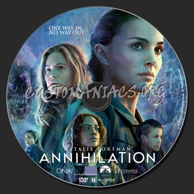 Annihilation dvd label
