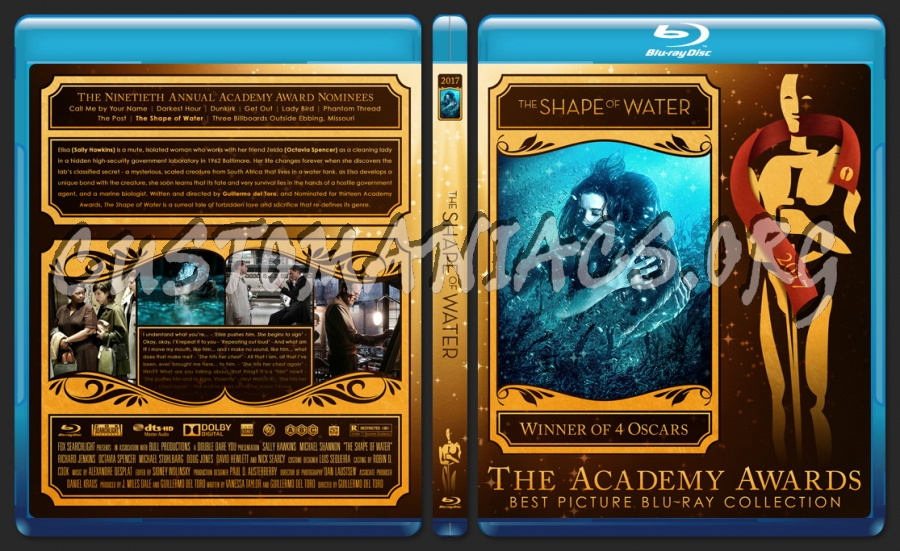 The shape of water 2017 academy awards collection blu - Academy awards 2017 download ...